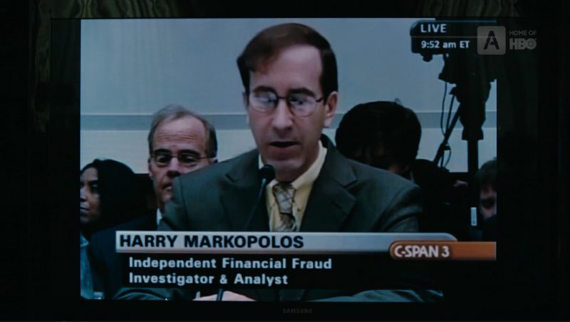 C-SPAN 3 and Samsung TV in The Wizard of Lies (2017) - Movie Product Placement
