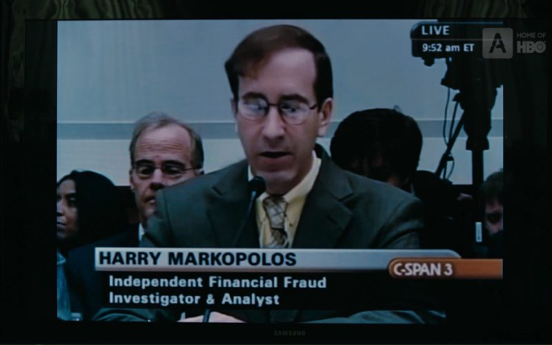 C-SPAN 3 and Samsung TV in The Wizard of Lies (1)
