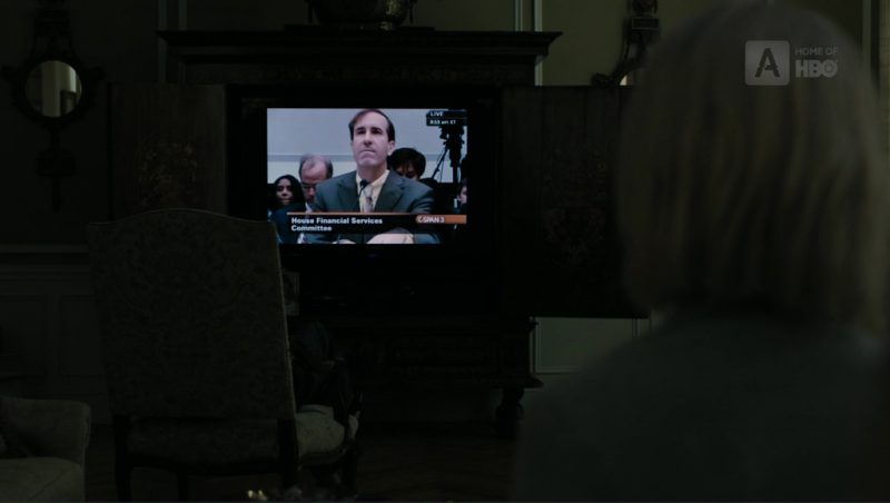 C-SPAN 3 and Samsung TV in The Wizard of Lies (2017) Movie Product Placement