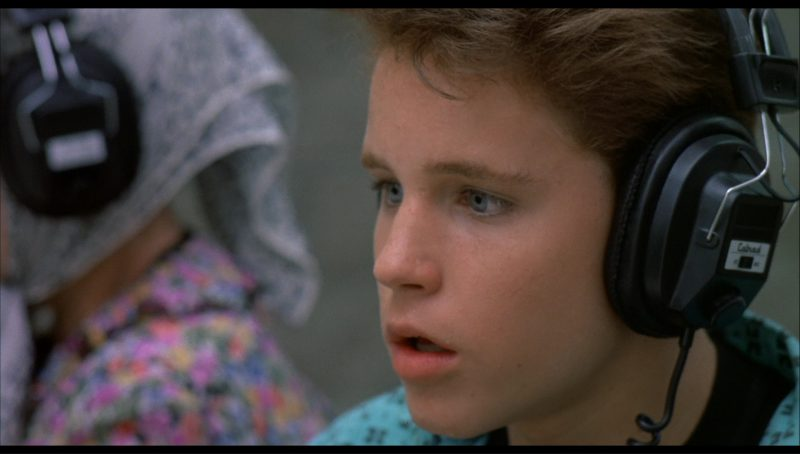 Calrad Headphones in License to Drive (1988) Movie Product Placement
