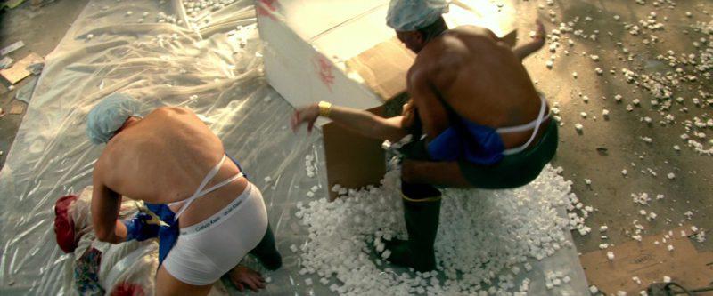 Calvin Klein underwear worn by Mark Wahlberg in PAIN & GAIN (2013) Movie Product Placement