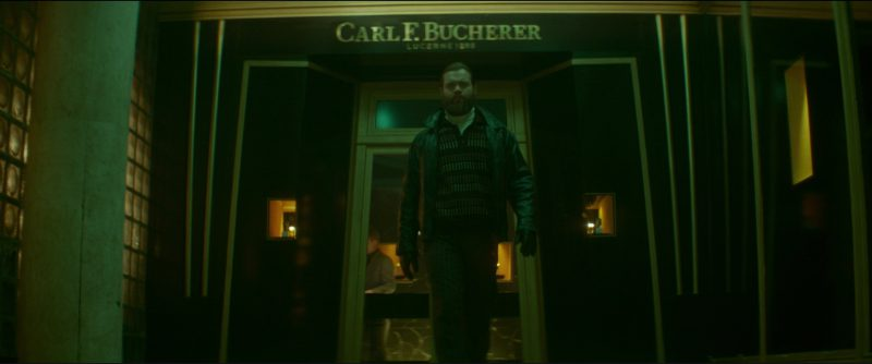 Carl F. Bucherer Watch Sign (Store) in Atomic Blonde (2017) Movie Product Placement