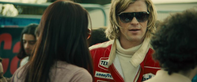 Carrera Sunglasses (Speedway Model) Worn by Chris Hemsworth in Rush (2013) Movie Product Placement