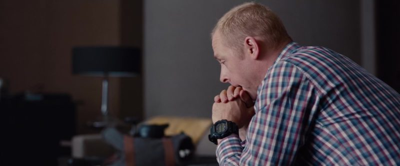 Casio G-Shock GX-56-1B worn by Simon Pegg in Mission: Impossible - Ghost Protocol (2011) Movie Product Placement