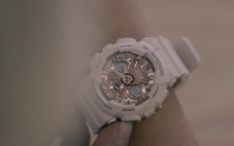 Casio G-Shock Watches (White) Worn by Bebe Rexha in Meant to Be (feat. Florida Georgia Line) (2017) 4