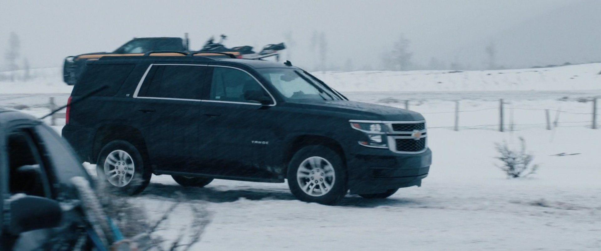Chevrolet Tahoe full-size SUV in Wind River (2017) Movie