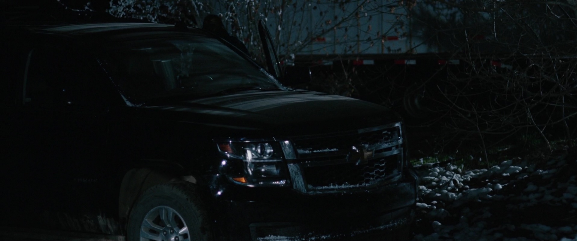 Chevrolet Tahoe Full Size Suv In Wind River 2017 Movie