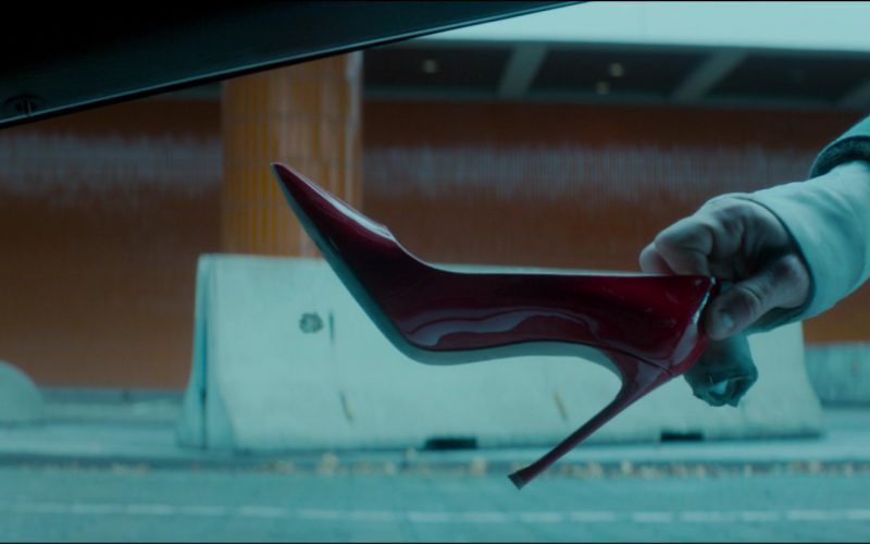 Christian Dior Red High Heel Pumps Worn by Charlize Theron in Atomic Blonde (6)