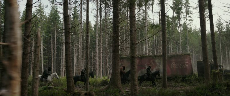 Coca-Cola Truck in War for the Planet of the Apes (2017) Movie Product Placement