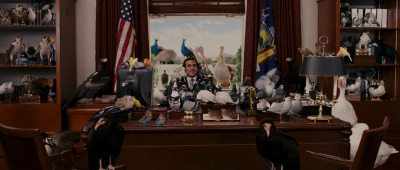 Dell monitor used by Steve Carell in EVAN ALMIGHTY (2007) Movie Product Placement