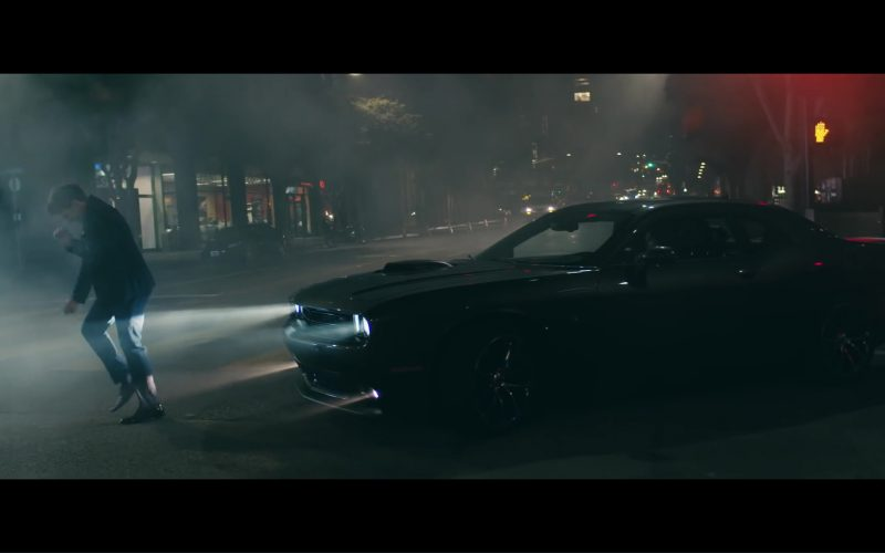 Dodge Challenger (Black) in How Long by Charlie Puth (2017) 5