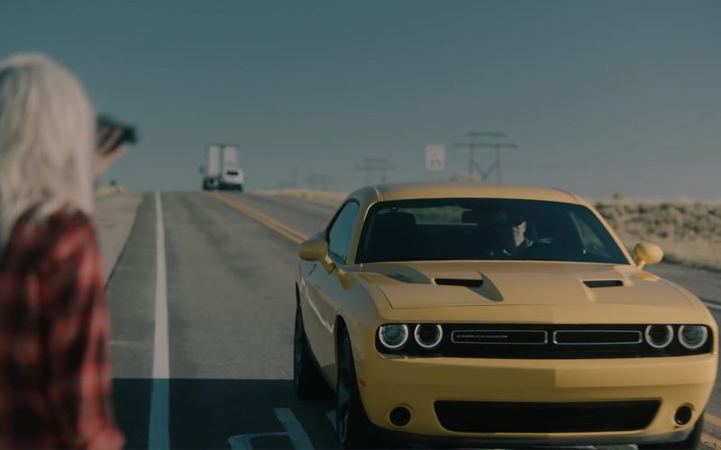 Dodge Challenger (Yellow) Car in Meant to Be by Bebe Rexha feat. Florida Georgia Line (2017) 1