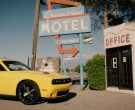 Dodge Challenger (Yellow) Car in Meant to Be by Bebe Rexha feat. Florida Georgia Line (2017) 4