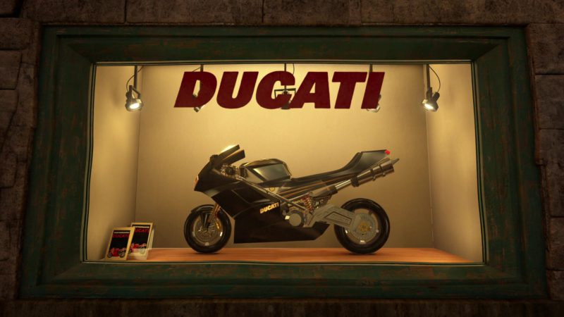 Ducati 848 motorcycle in Madagascar 3: Europe's Most Wanted (2012) - Animation Movie Product Placement
