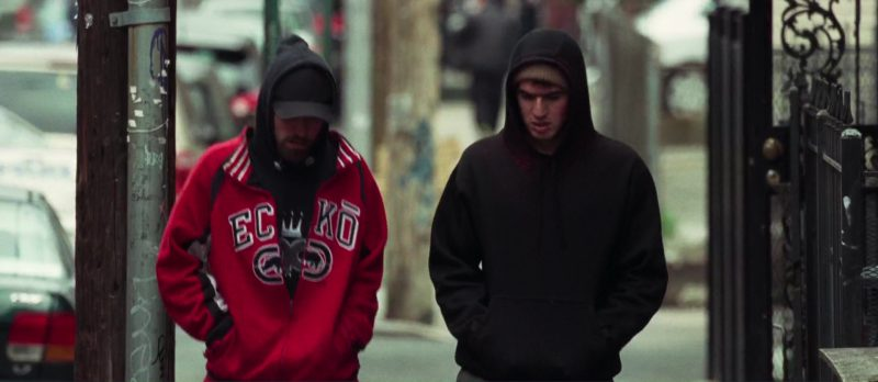Ecko Unltd Men's Hoodie Worn by Robert Pattinson In Good Time (2017) Movie Product Placement