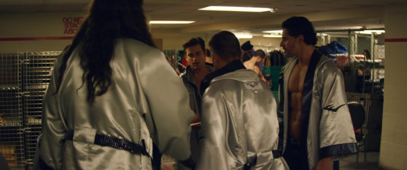 Everlast dressing gowns in MAGIC MIKE XXL (2015) Movie Product Placement