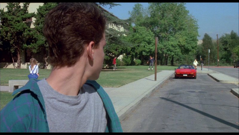 Ferrari 308 GTS Car in License to Drive (1988) Movie Product Placement