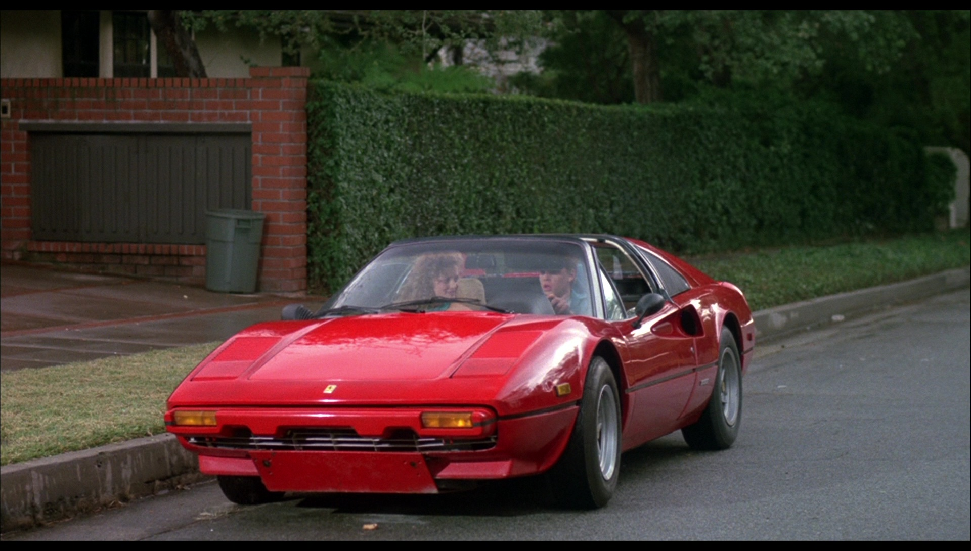 Ferrari 308 Gts Car In License To Drive 1988 Movie