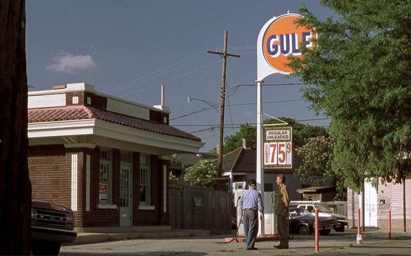 Gulf Oil in Monster's Ball