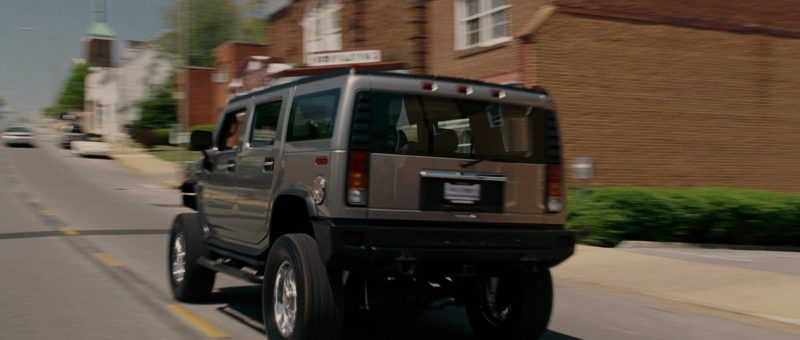 Hummer H2 Used by Steve Carell in EVAN ALMIGHTY (2007) - Movie Product Placement