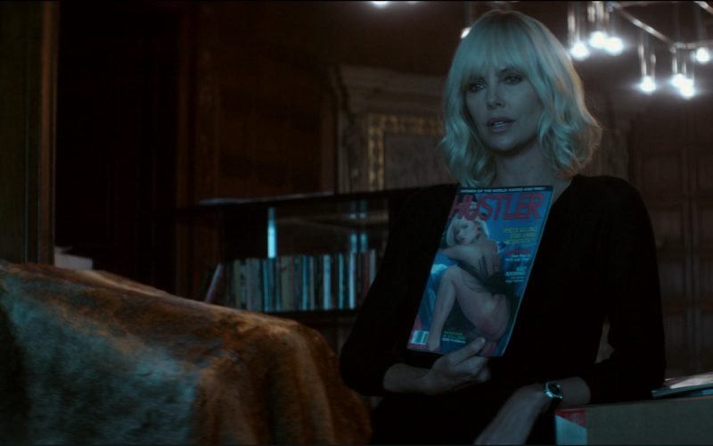 Hustler Magazine in Atomic Blonde (2017)