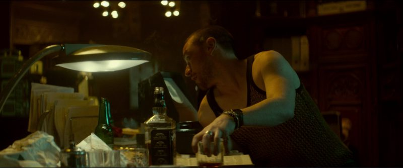 Jack Daniel's Whiskey And Heineken Beer in Atomic Blonde (2017) - Movie Product Placement
