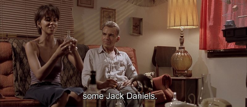 Jack Daniel's Whiskey in Monster's Ball (2001) Movie Product Placement