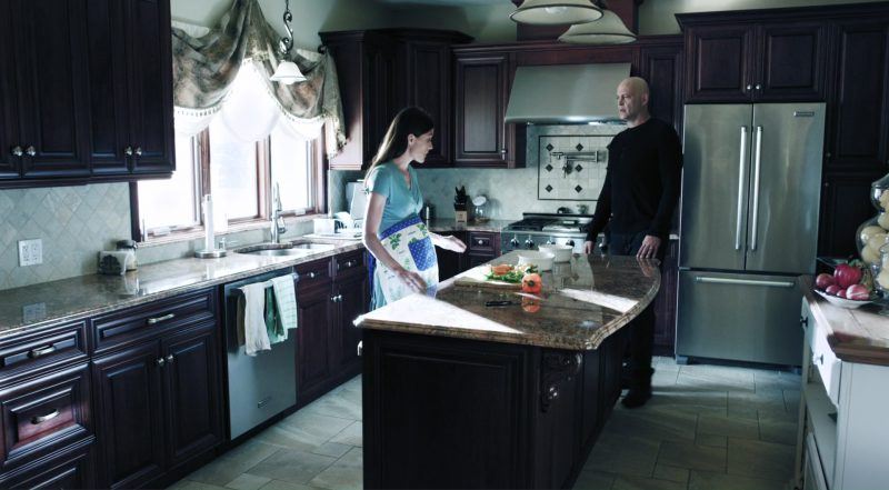 KitchenAid Refrigerator in Brawl in Cell Block 99 (2017) - Movie Product Placement