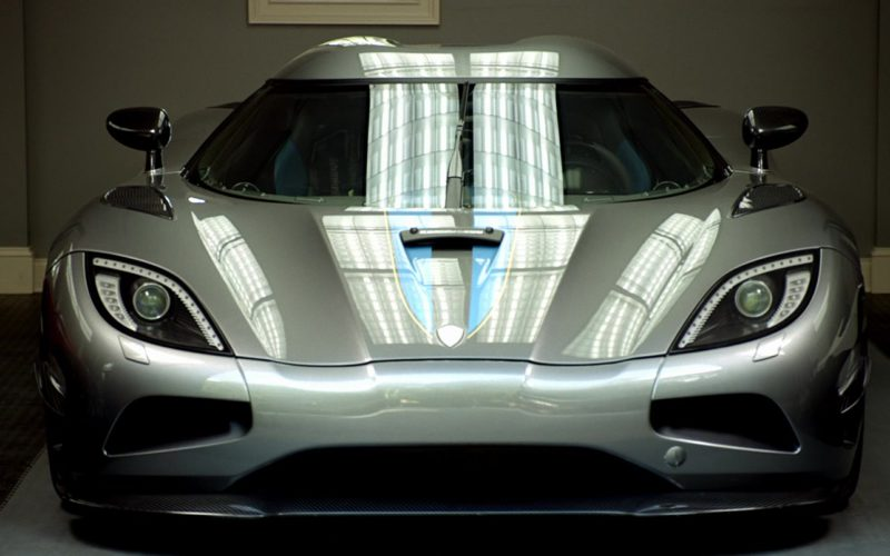 Koenigsegg Agera Grey Sports Car Driven by Aaron Paul in Need for Speed (1)