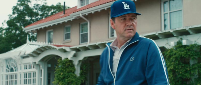Los Angeles Dodgers cap and Fred Perry jacket worn by Kevin Spacey in CASINO JACK (2010) - Movie Product Placement