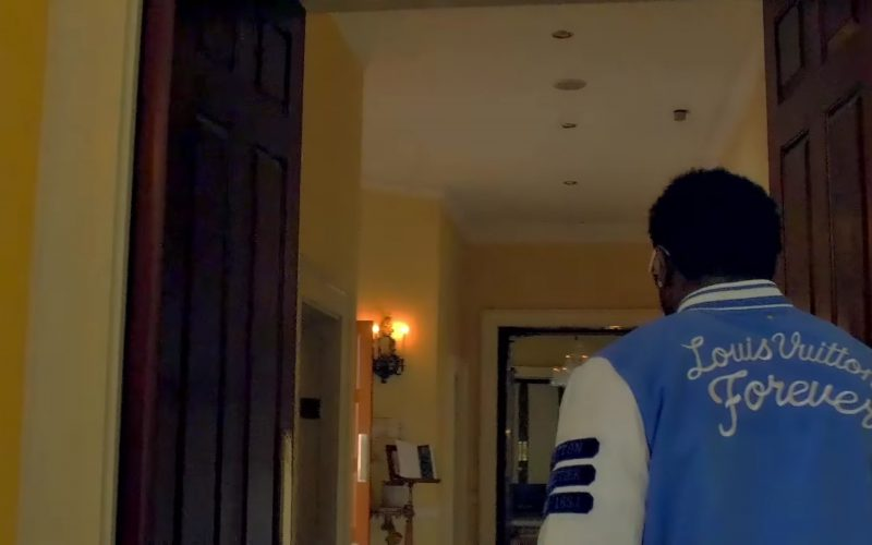 Louis Vuitton Men's Jacket Worn by Gucci Mane in Members Only (2017) 2