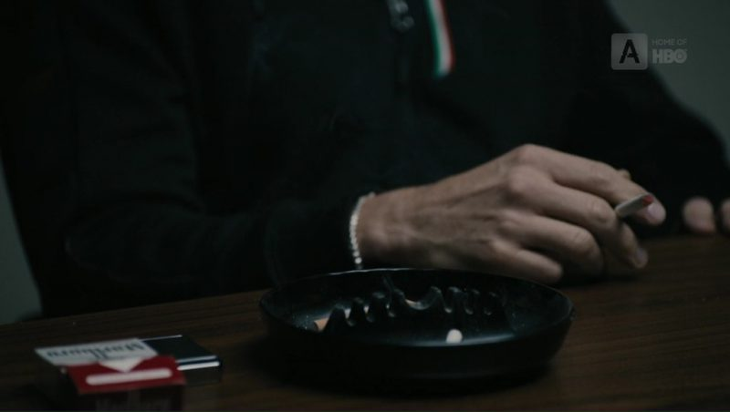 Marlboro (Red) Cigarettes in The Wizard of Lies (2017) Movie Product Placement