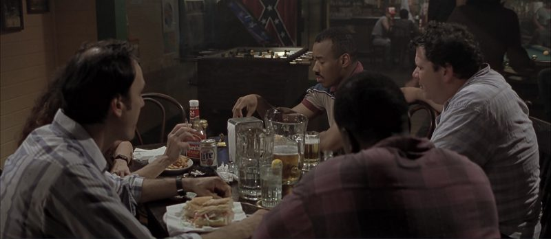 Miller Lite Beer and Hunt's Ketchup in Monster's Ball (2001) Movie Product Placement
