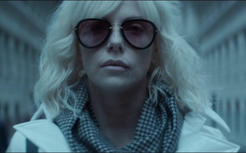 Miu Miu 03QS Sunglasses Worn by Charlize Theron in Atomic Blonde