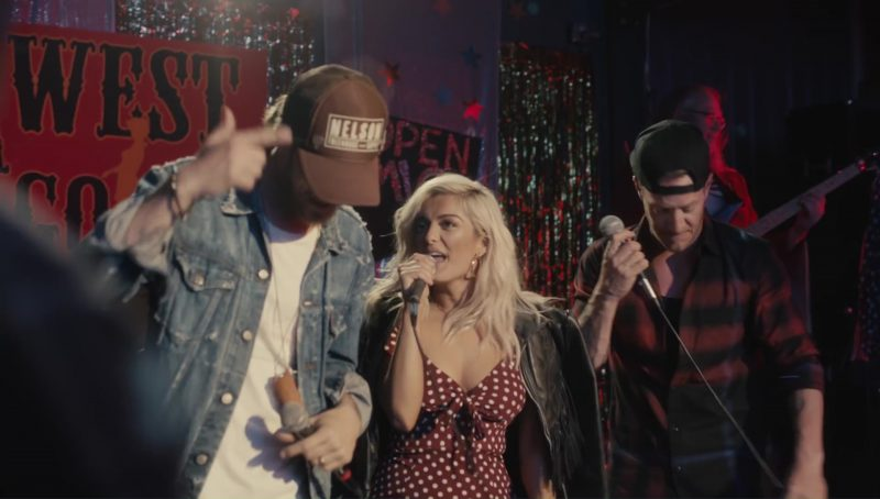 Nelson Treehouse and Supply Cap Worn by Brian Kelley in Meant to Be by Bebe Rexha feat. Florida Georgia Line (2017) Official Music Video Product Placement