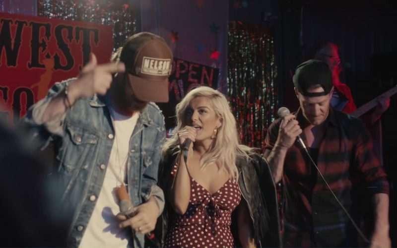 Nelson Treehouse and Supply Cap Worn by Brian Kelley in Meant to Be by Bebe Rexha feat. Florida Georgia Line (2017) 5
