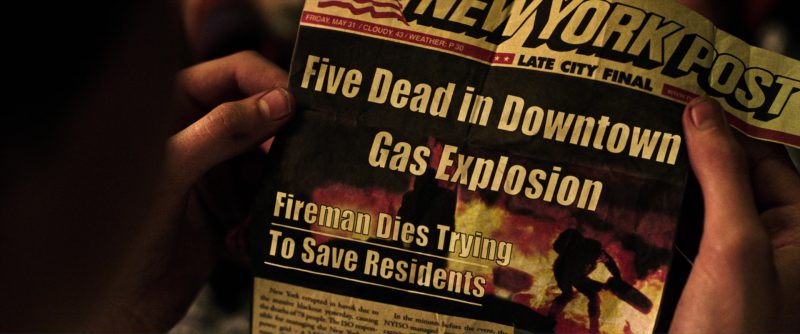 New York Post Newspaper in The Dark Tower (2017) Movie Product Placement
