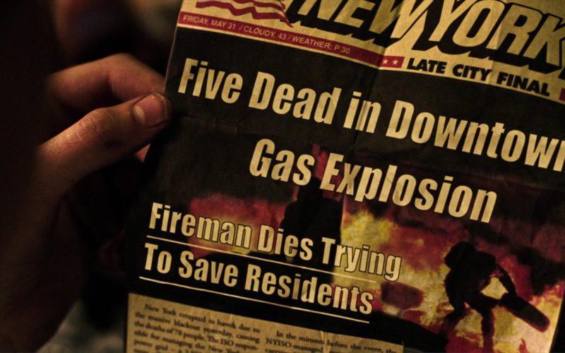 New York Post Newspaper in The Dark Tower (2017)
