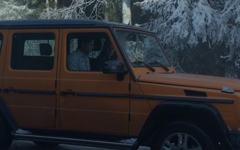 Orange Mercedes-Benz G-Class (11)