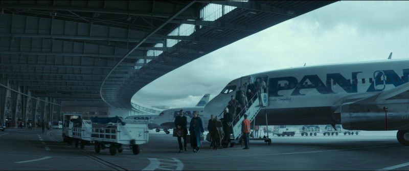 Pan Am Airlines in Atomic Blonde (2017) Movie Product Placement