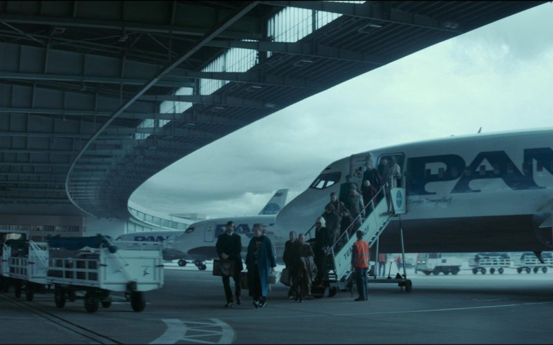 Pan Am Airlines in Atomic Blonde (2017)