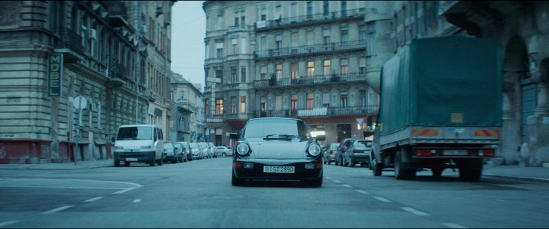 Porsche 911 Carrera [964] Car Used by James McAvoy in Atomic Blonde (2017) Movie Product Placement