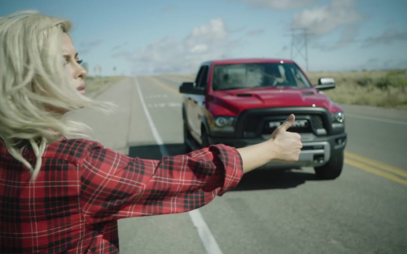 RAM 1500 Rebel (Red) Car in Meant to Be by Bebe Rexha feat. Florida Georgia Line (2017) 1