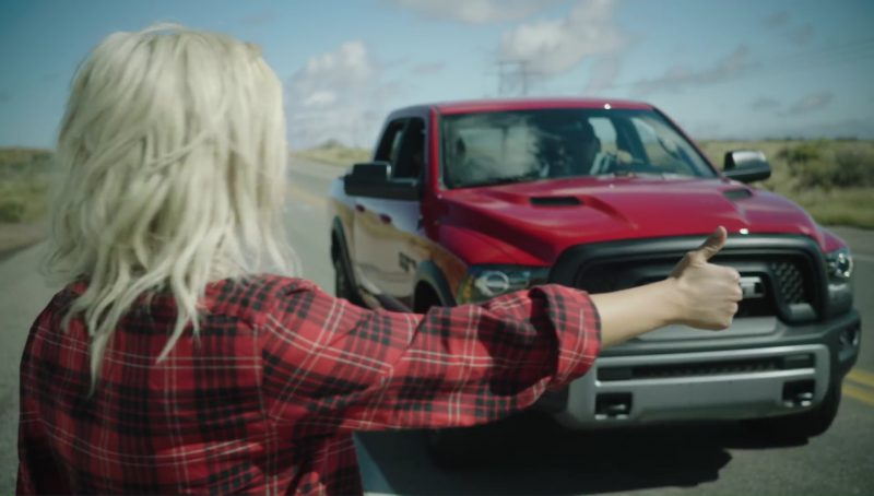 RAM 1500 Rebel (Red) Car in Meant to Be by Bebe Rexha feat. Florida Georgia Line (2017) Official Music Video Product Placement