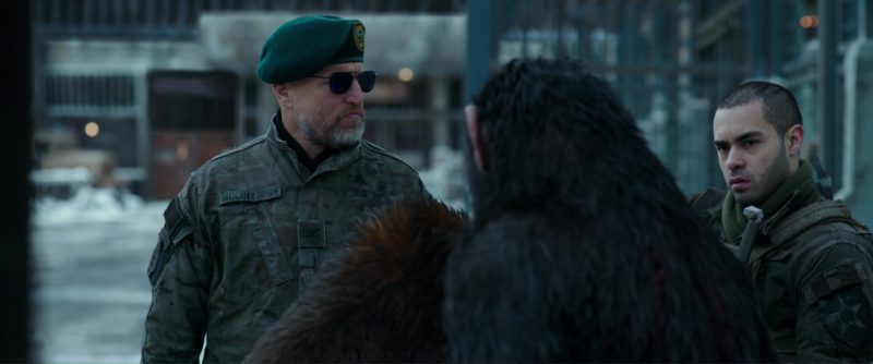 Randolph Engineering sunglasses worn by Woody Harrelson in War for the Planet of the Apes (2017) Movie Product Placement