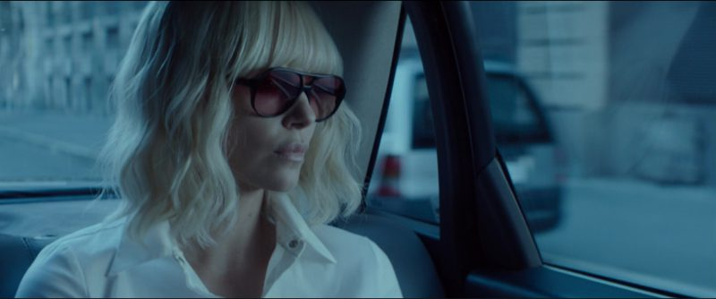 Ray-Ban RB 4125 Sunglasses Worn by Charlize Theron in Atomic Blonde (2017) Movie Product Placement