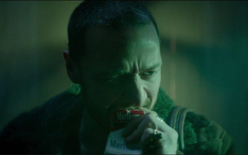 Red Marlboro Cigarettes Smoked By James McAvoy in Atomic Blonde