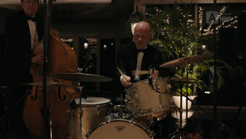 Remo Drums in The Wizard of Lies (2017) Movie Product Placement
