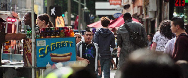Sabrett and Nike Air Jordan Men's T-Shirt in The Dark Tower (2017) Movie Product Placement