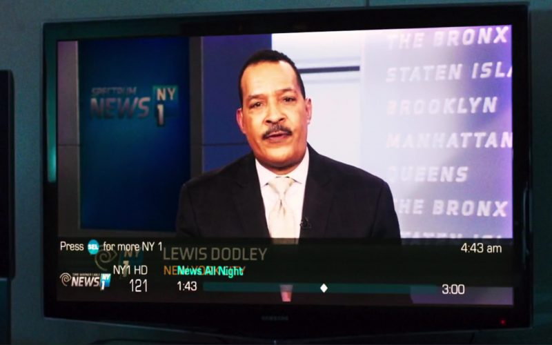 Samsung TV and NY1 TV Channel In Good Time (1)